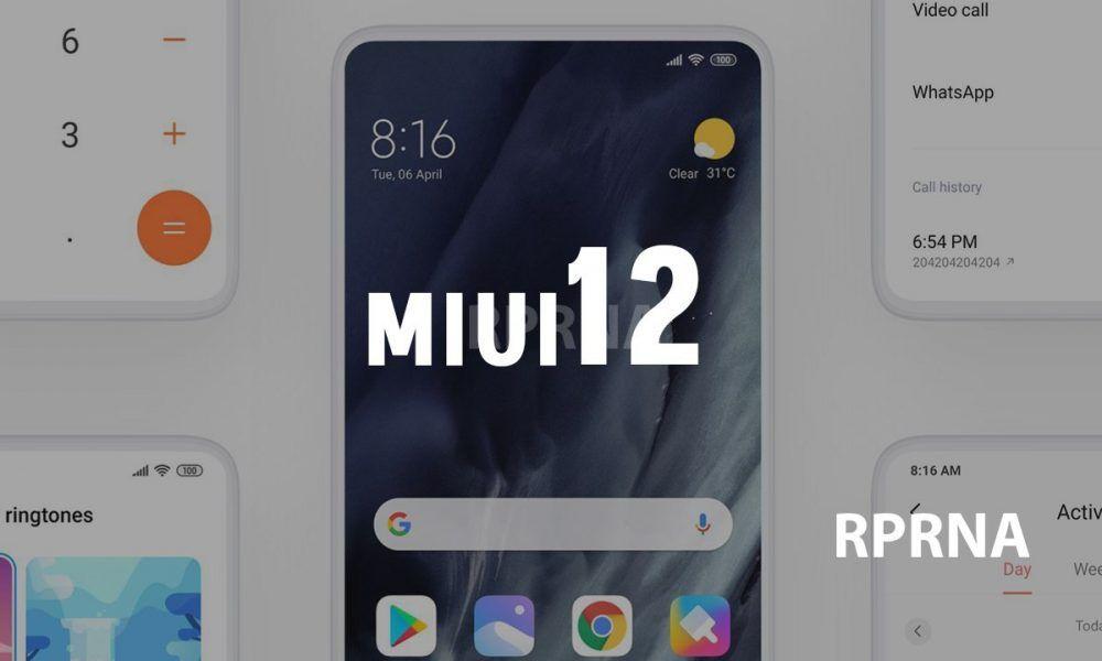 [Updated] Xiaomi Redmi Note 7/7S and Redmi Note 7 Pro MIUI 12 update status – RPRNA 4K