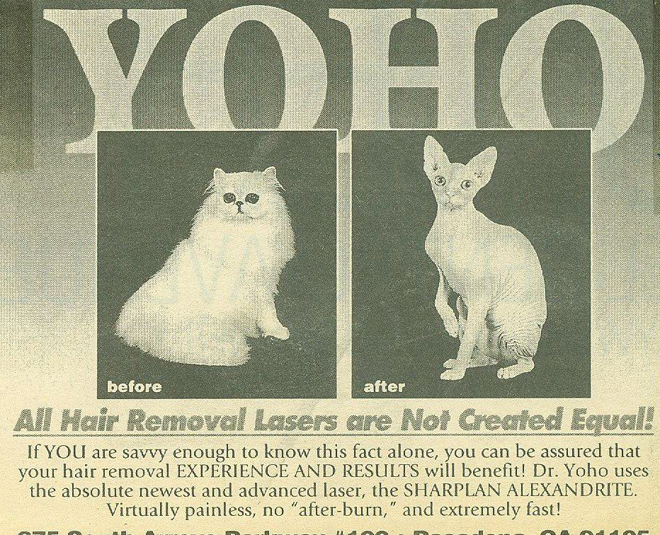 Hair Removal (ad from local paper late 90's)https//ift.tt