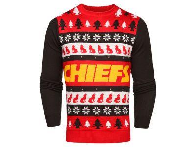 4b9587947d4 Kansas City Chiefs NFL Men's Light Up Ugly Crew Neck Sweater