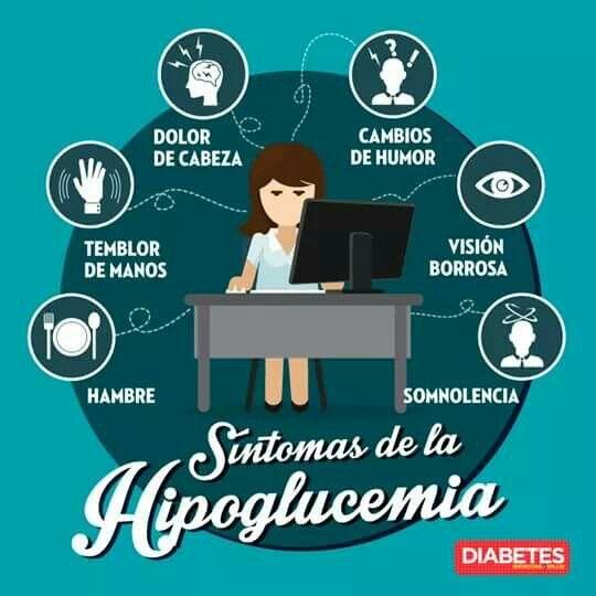 ¿Tengo síntomas de diabetes o hipoglucemia?