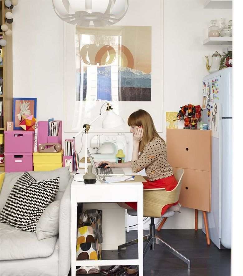 small home office solutions. Small-space Office Solutions From Ikea, So You Can Live Like A Chic Parisian Small Home
