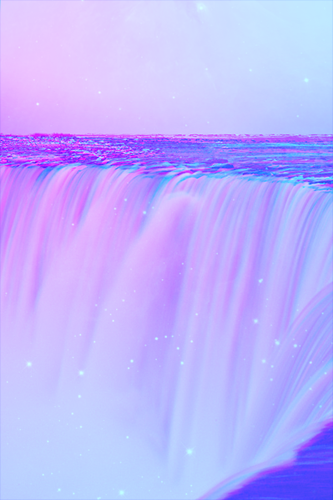 Aesthetic Background Blue And Pink