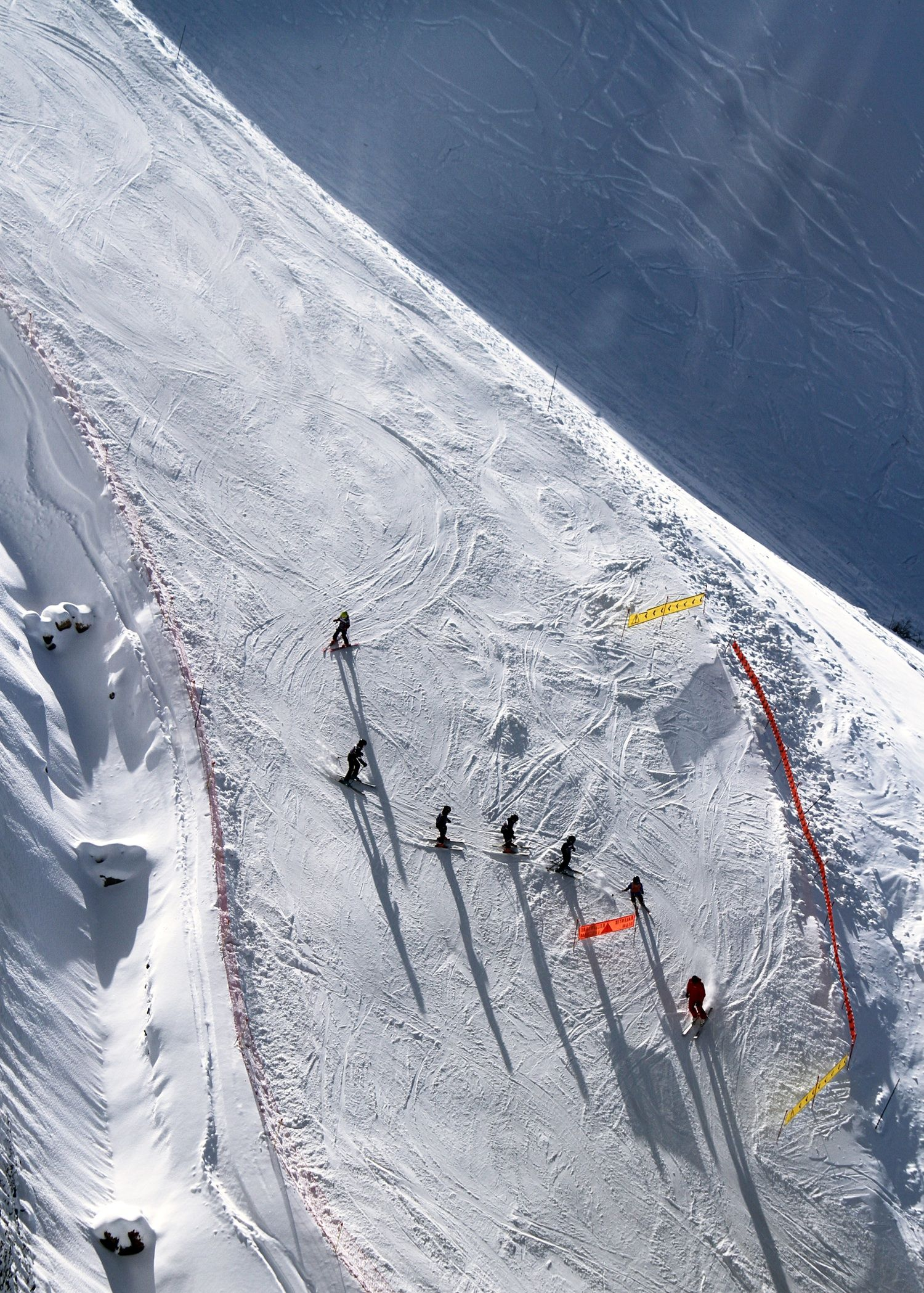 DONE Ski A Black Diamond Slope Spent Week Skiing In Vail Annually For While To Overcome Fear Of Falling Had Down