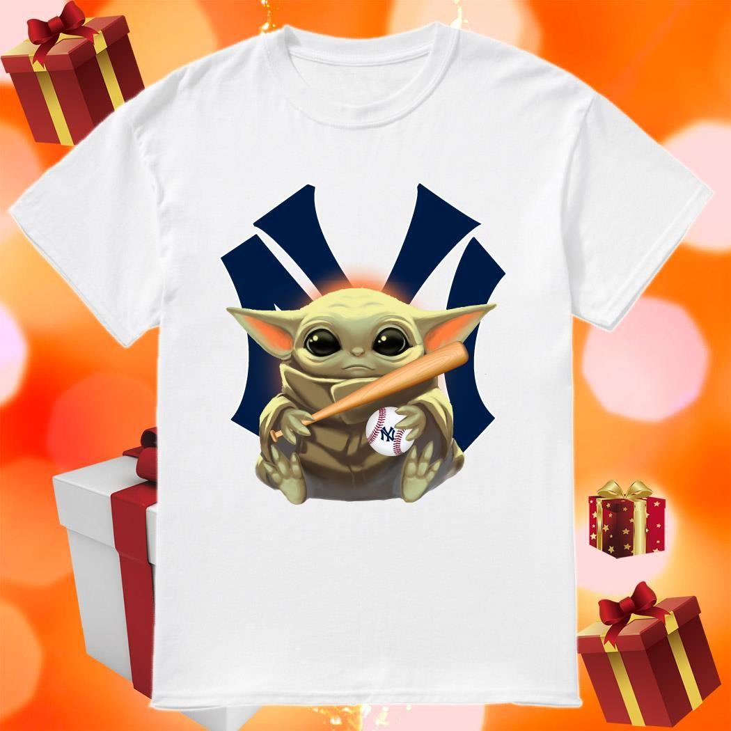 Baby Yoda Love New York Yankees Shirt Birthday Shirts Idea Store New York Yankees Shirt Yankees T Shirt New York Yankees