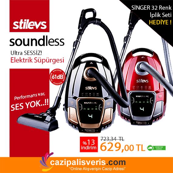 Performans var, Ses YOK!! Stilevs'ten Soundless Ultra Sessiz Elektrik Süpürgesi.. Hem de Hediyeli!  Hemen Tıklayın..