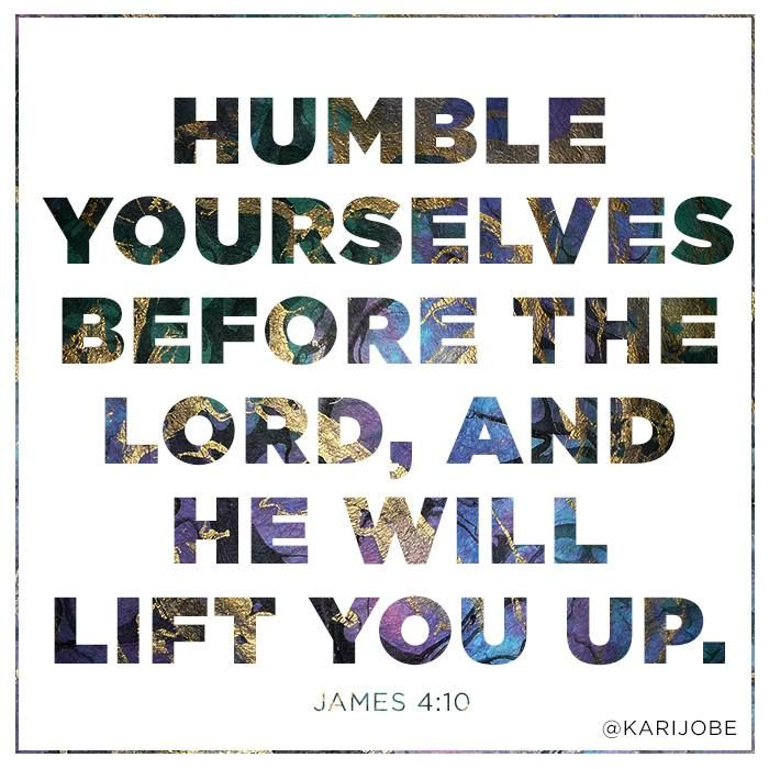 Humble Yourselves Before The Lord