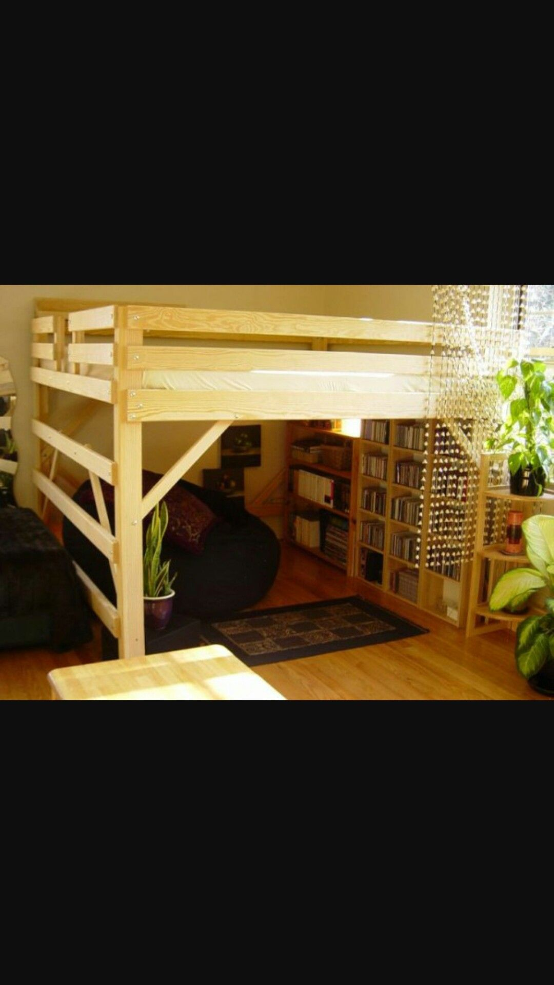 King Size Loft Bed Plans Great Looking Kids Room But
