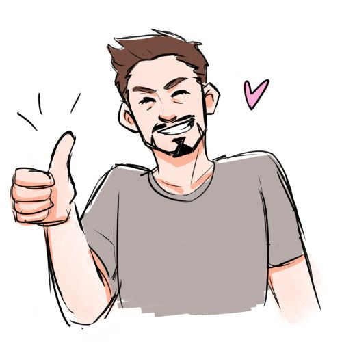goddamnityato asked: Can I just say i love how you draw Tony smiling. It brings me so much joy. Dchanberry:D'aaaww thank you so much! He always needs more smiles. :) <3