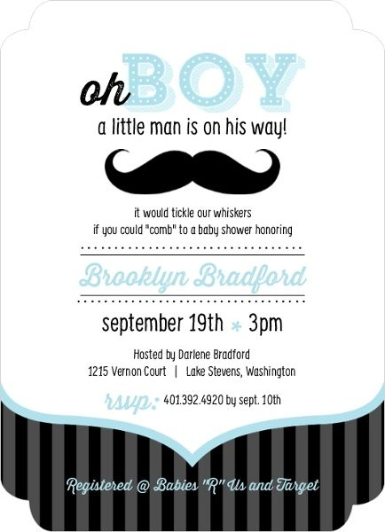 Blue And Black Moustache Boy Baby Shower Invites Inexpensive Baby Shower Invitations Cheap Baby Shower Invitations Baby Shower Invitations For Boys
