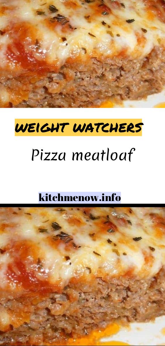 Pizza meatloaf images