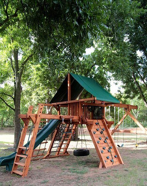 Ideas Para Montar Una Zona De Juegos Al Aire Libre Jardi Idees