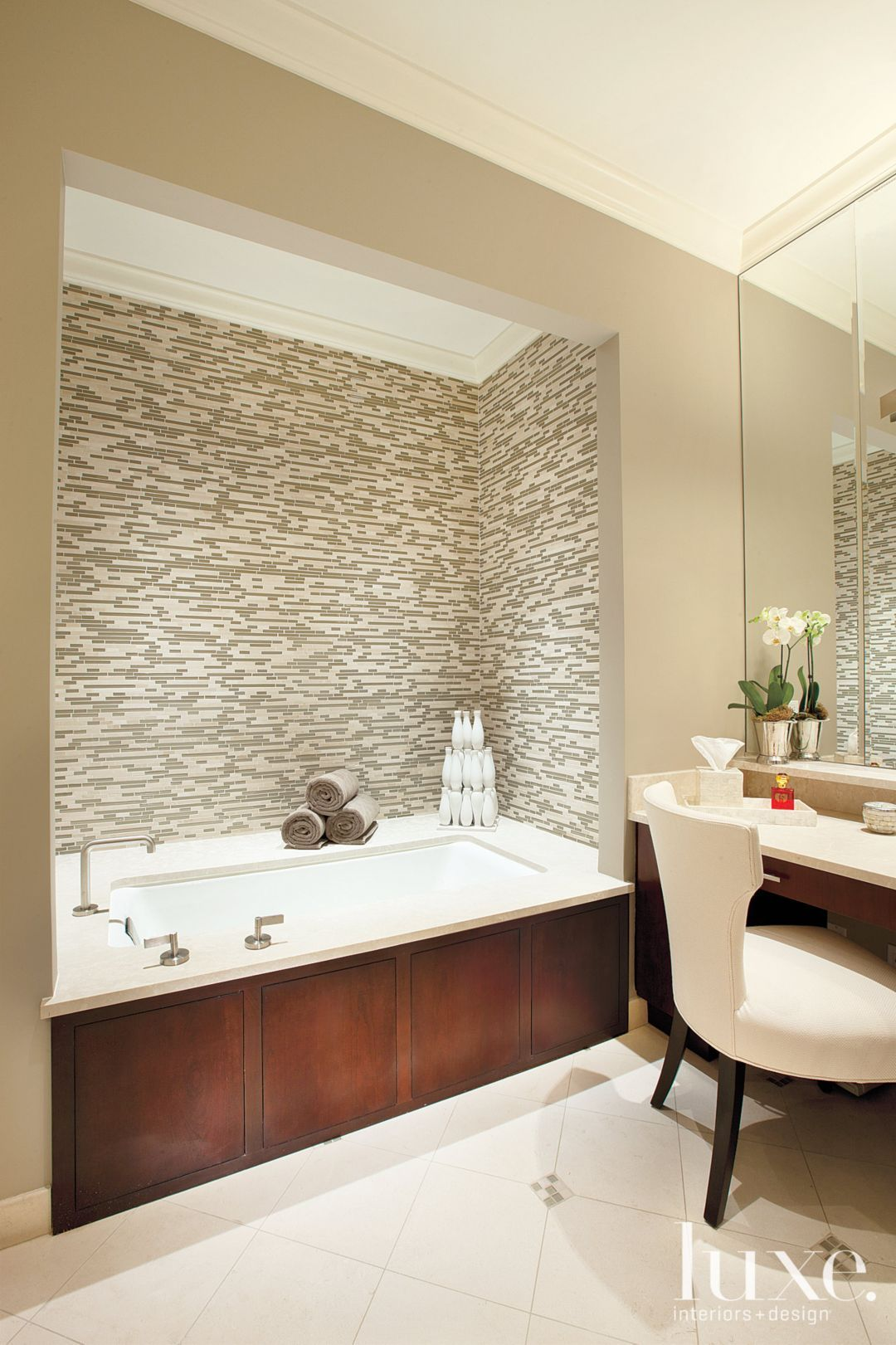 15 Beautiful Bathroom Tile Designs | LuxeDaily - Design Insight from ...