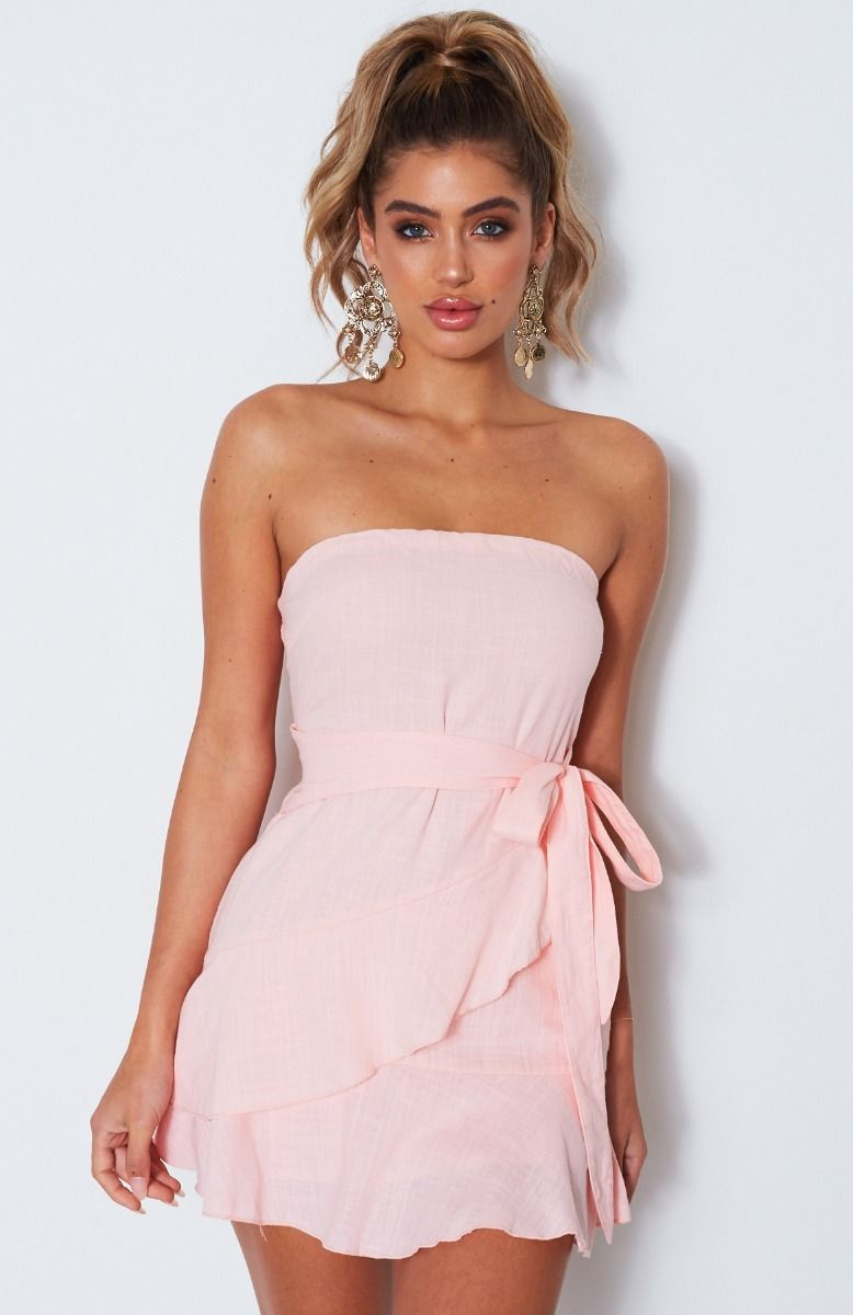 ef9852af6f88 Holiday Romance Mini Dress Baby Pink | Wardrobe Wants | Dresses ...