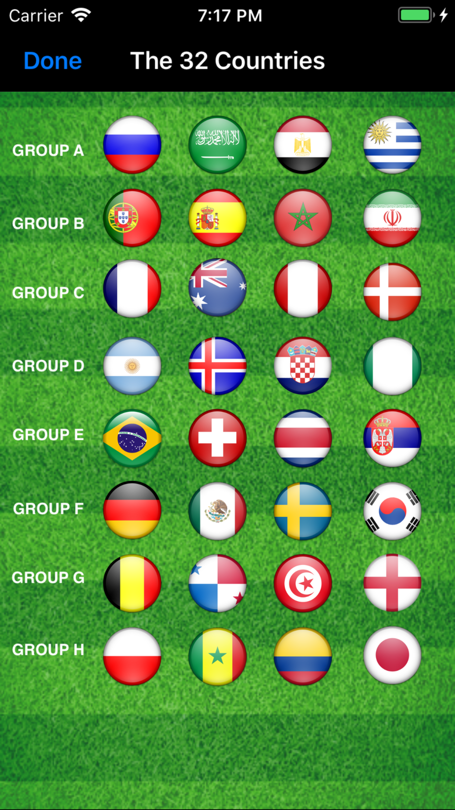 World Cup App 2018 Russia SportsappChocolateiosNews
