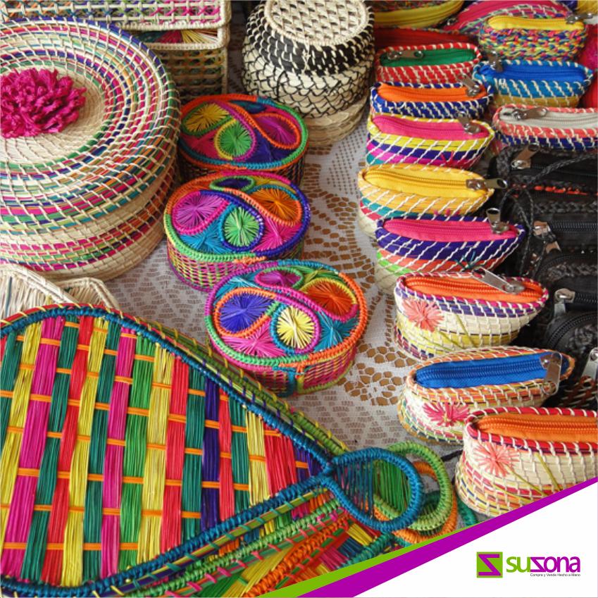 La palma de iraca bolsos sombreros accesorios de moda for Cosas para el hogar