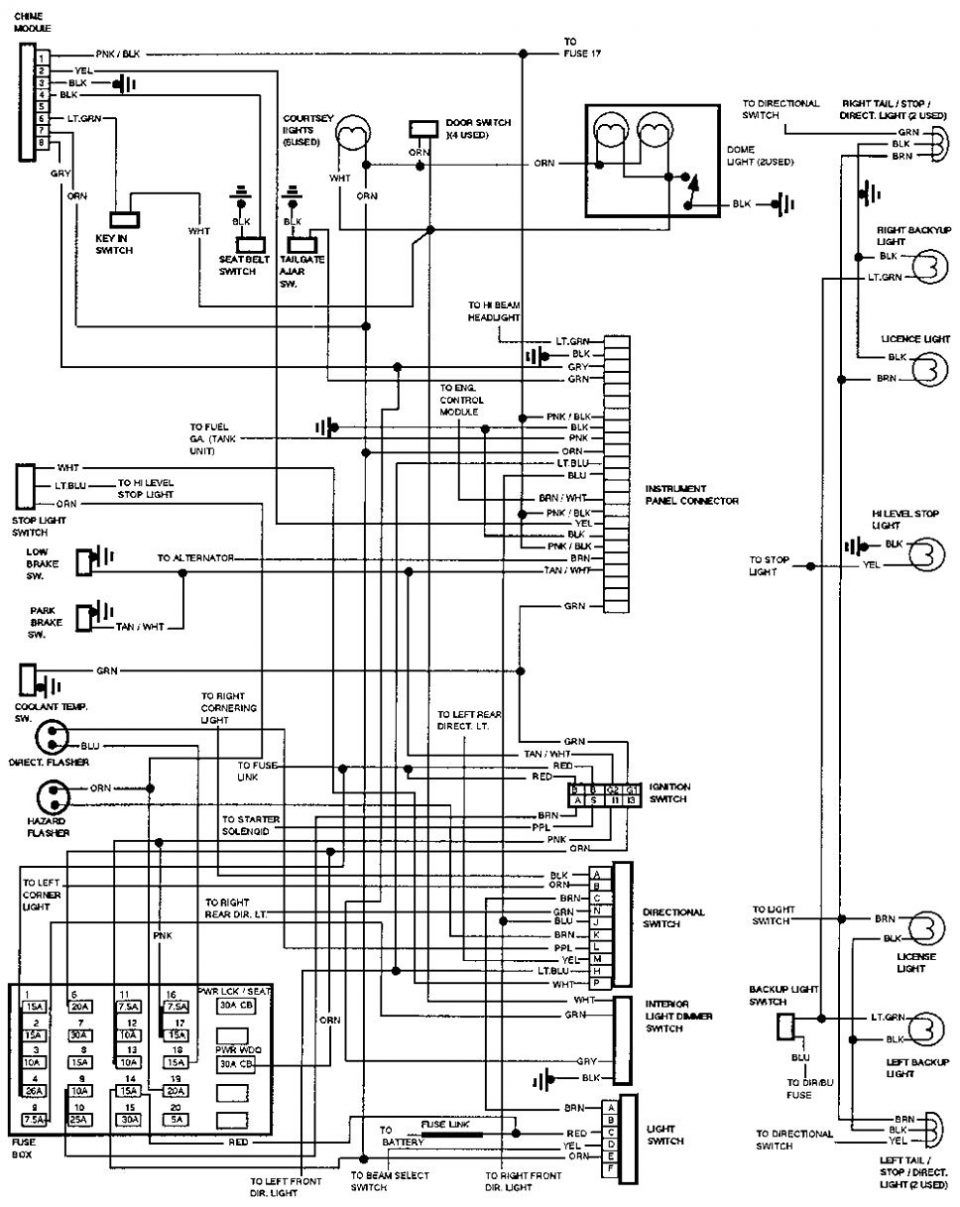 Wiring Diagram Electric Oven
