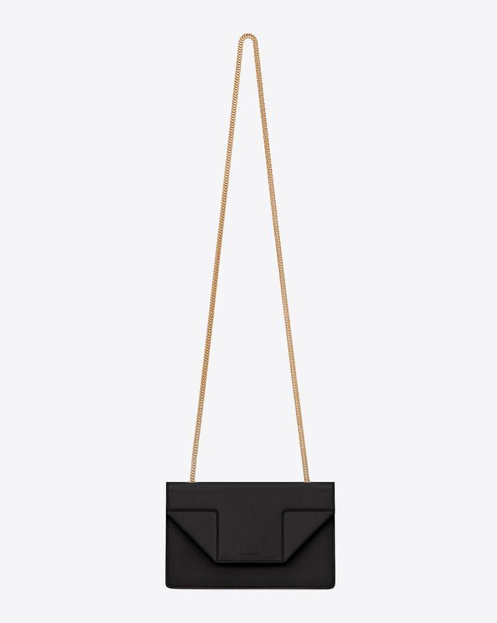 a5e3882d4cf Saint Laurent Classic Small Betty Bag In Black Grain De Poudre ...
