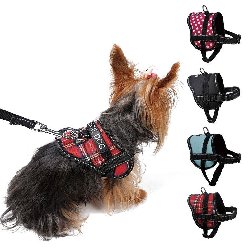 Adjustable Dog Harness Soft Comfort Harness Dogs Puppy Cat Collar