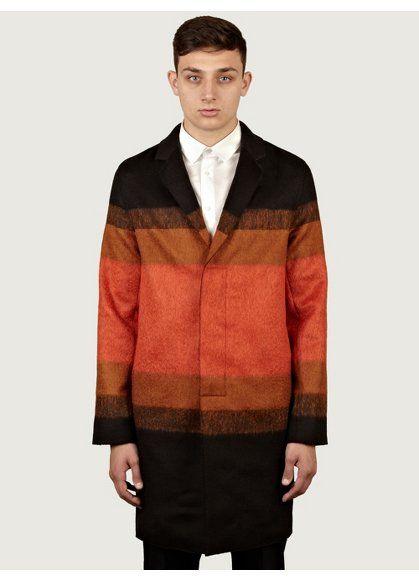 Jonathan Saunders Men's Lamorna Woollen Coat