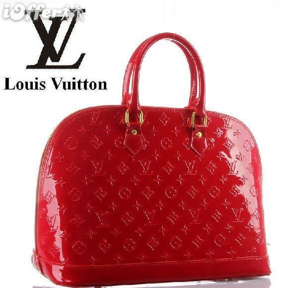 fashion-womens-red-vernis-alma-tote-bag-handbags-purse-6414.jpg (568×580)