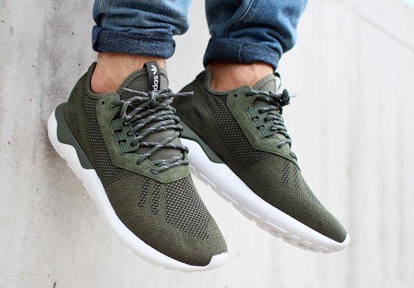 new style 8ae58 4dfd5 ... Adidas Tubular Runner Weave Base Green post image ...