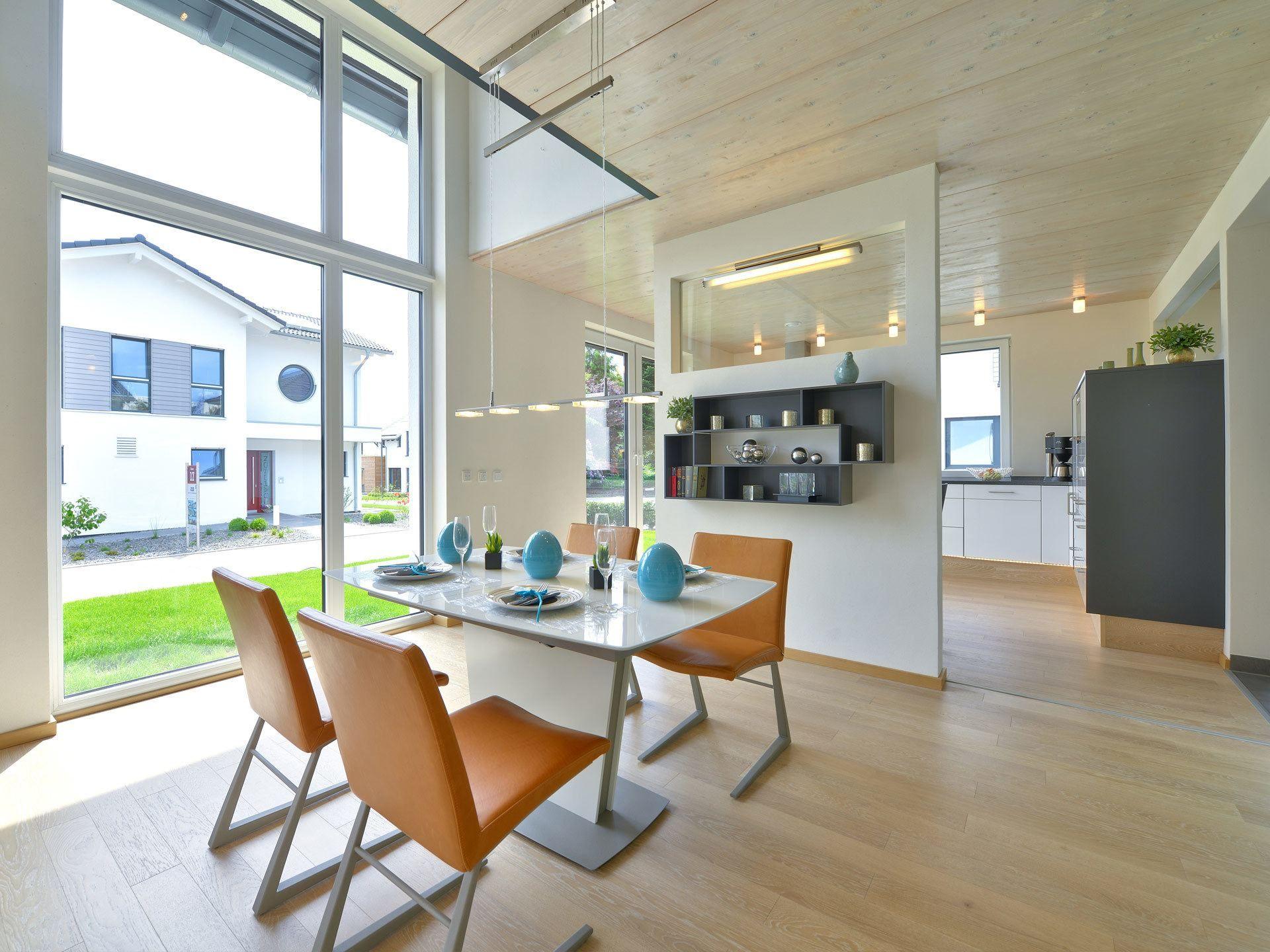 Musterhauspark Wuppertal essbereich mit offener küche im musterhaus wuppertal partner