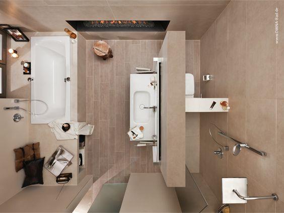 badezimmer beispiele 10qm | badezimmer | pinterest | badezimmer, Badezimmer dekoo