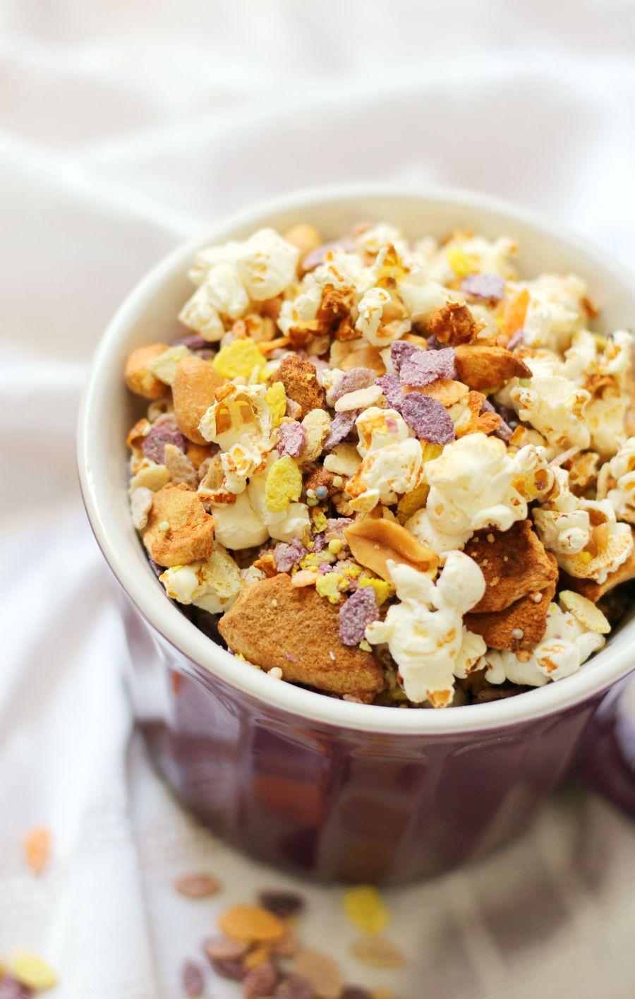 Circus Popcorn Recipe Recipes, Healthy snack mix