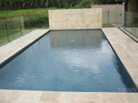 travertine linen honed & filled-pool   natural stone tiles and