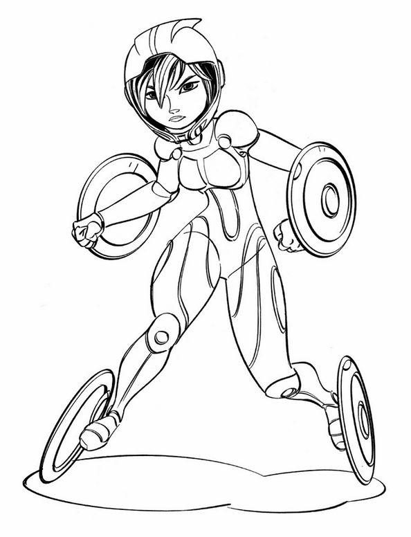 Dibujos para Colorear Big Hero 6 6 | Dibujos para colorear para ...