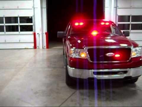 Volunteer Firefighter Emergency Led Lights Pov Firefighter Response Light Bars Led Emergency Lights Lights Pov