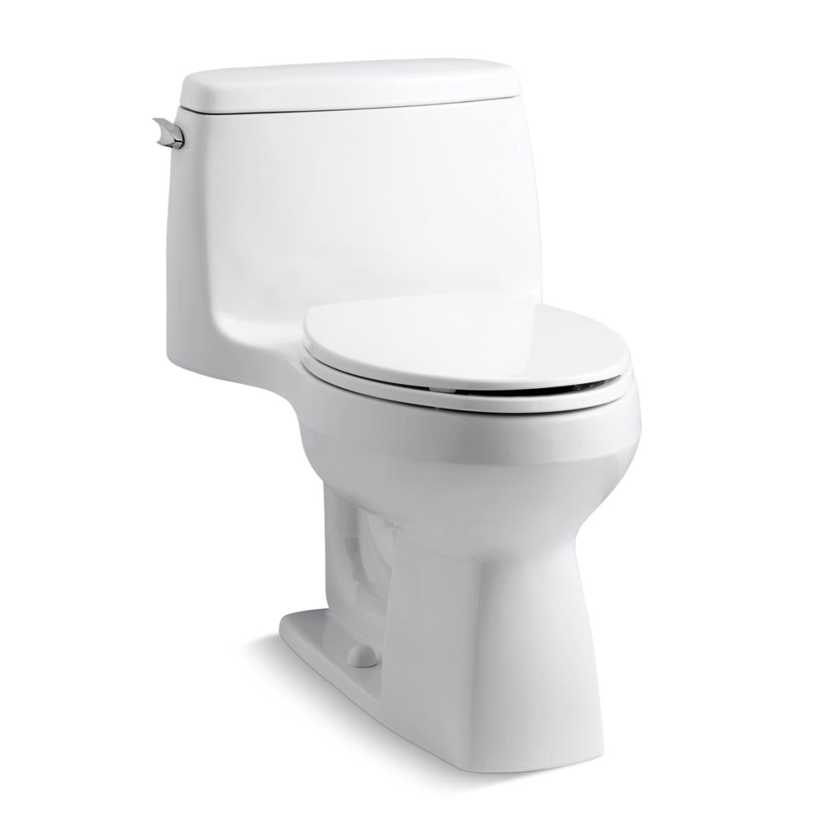 Kohler K 3810 47 Almond Santa Rosa 1 28 Gpf One Piece Elongated Comfort Height Toilet With Aquapiston Technology Includes Brev Kohler Toilet Bathroom Toilets