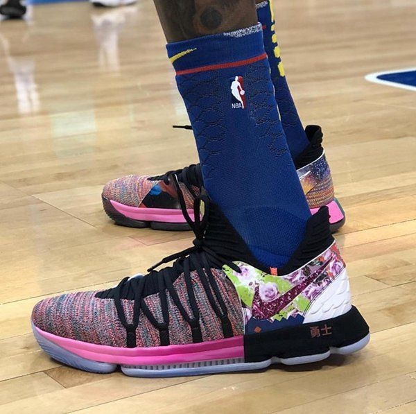 Kevin Durant Shoes KD 10 Worriors