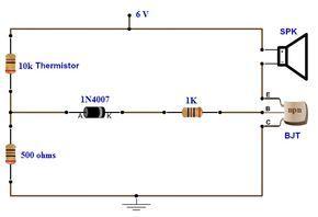 simple fire alarm circuit using thermistor circuit diagram ver rh 12 fgwnmp kizilaymadensuyu de