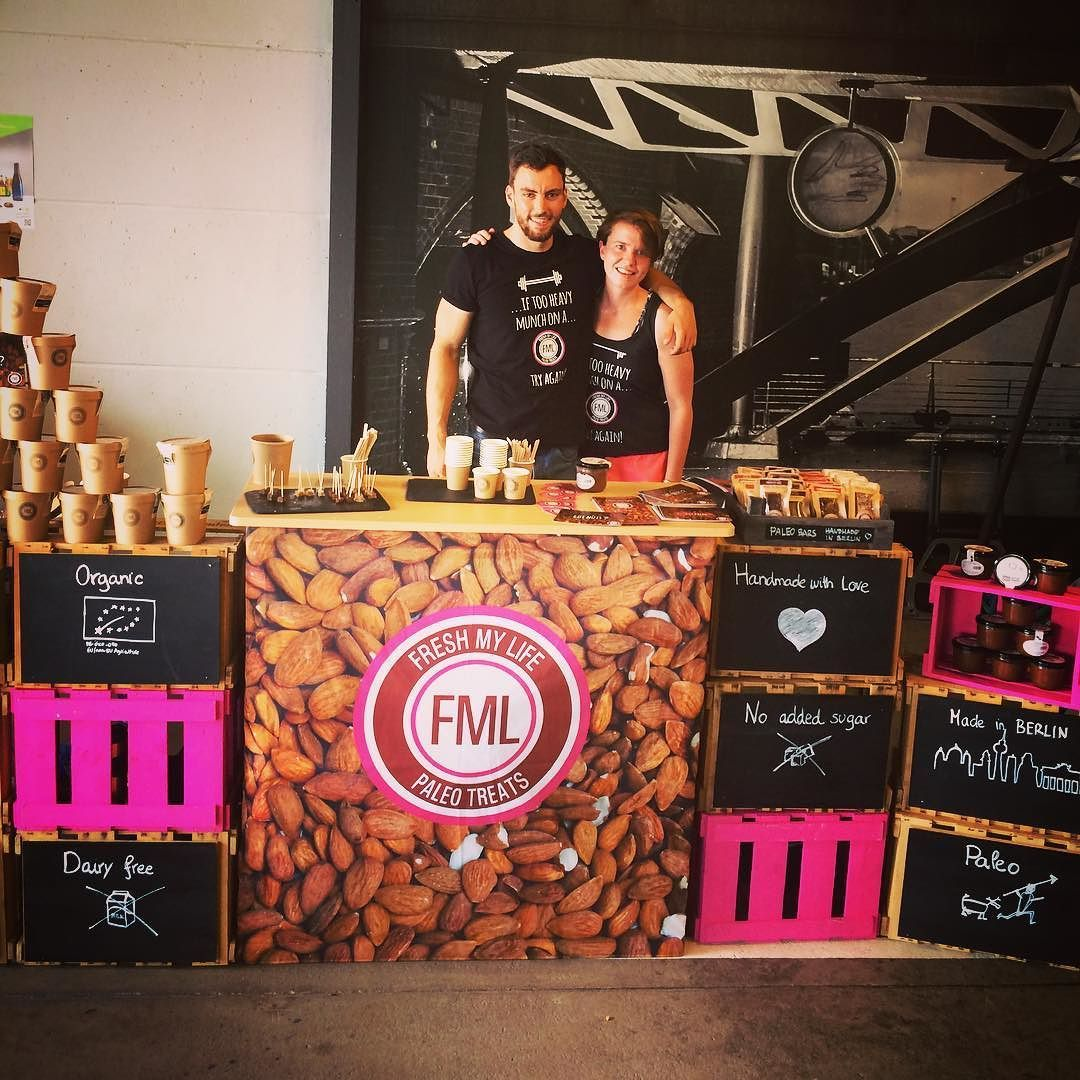 We are here! The weather is #hot don't forget to drink plenty of water today or just #eat #paleo #energy bars with us  #berlin #freshmylife #fml ##paleotreats #event #meet #friends #fun #happy #marketing #startup #fitness #fit #food #raw #vegan