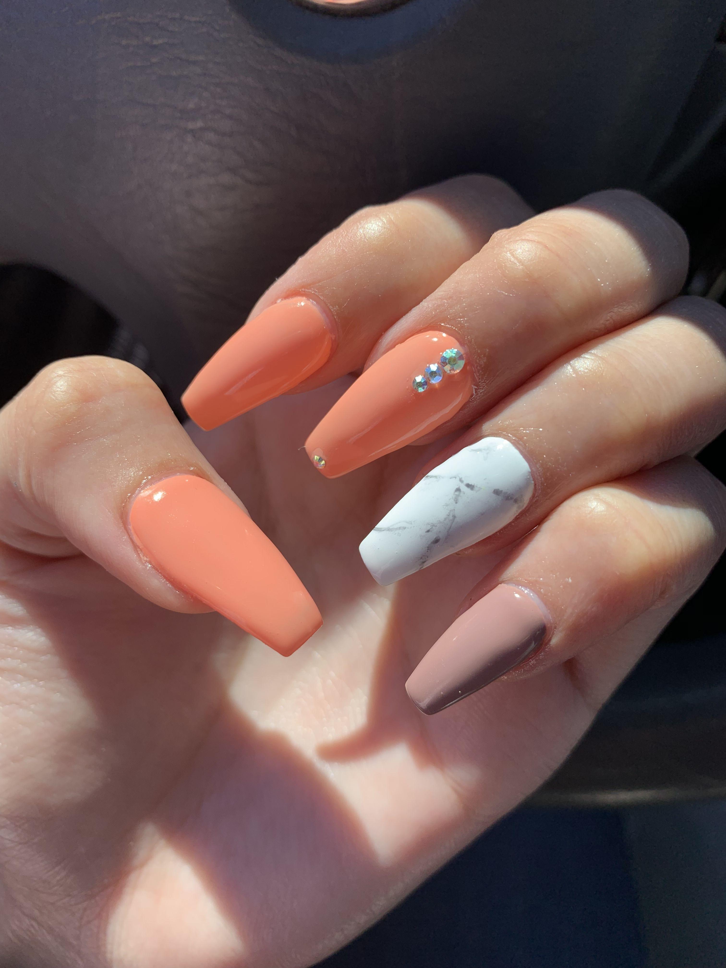 Summer Nails Colorful Nail Designs Summer Nails Nails