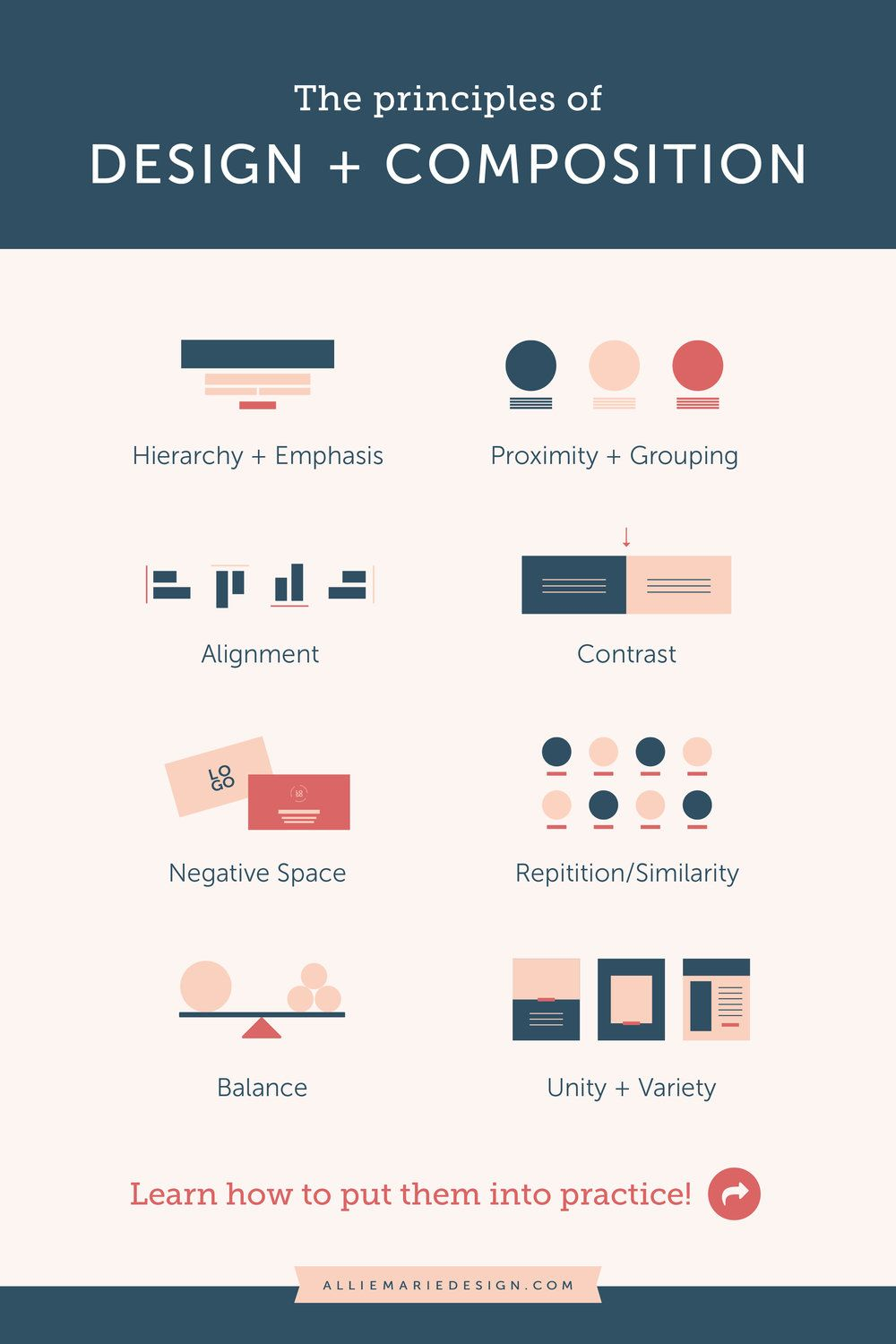 5 Pro Secrets To Improving Your Design Skills Creating Better Marketing Graphics For Your Business Alliemarie Design Graphic Design Lessons Graphic Design Tips Learning Graphic Design