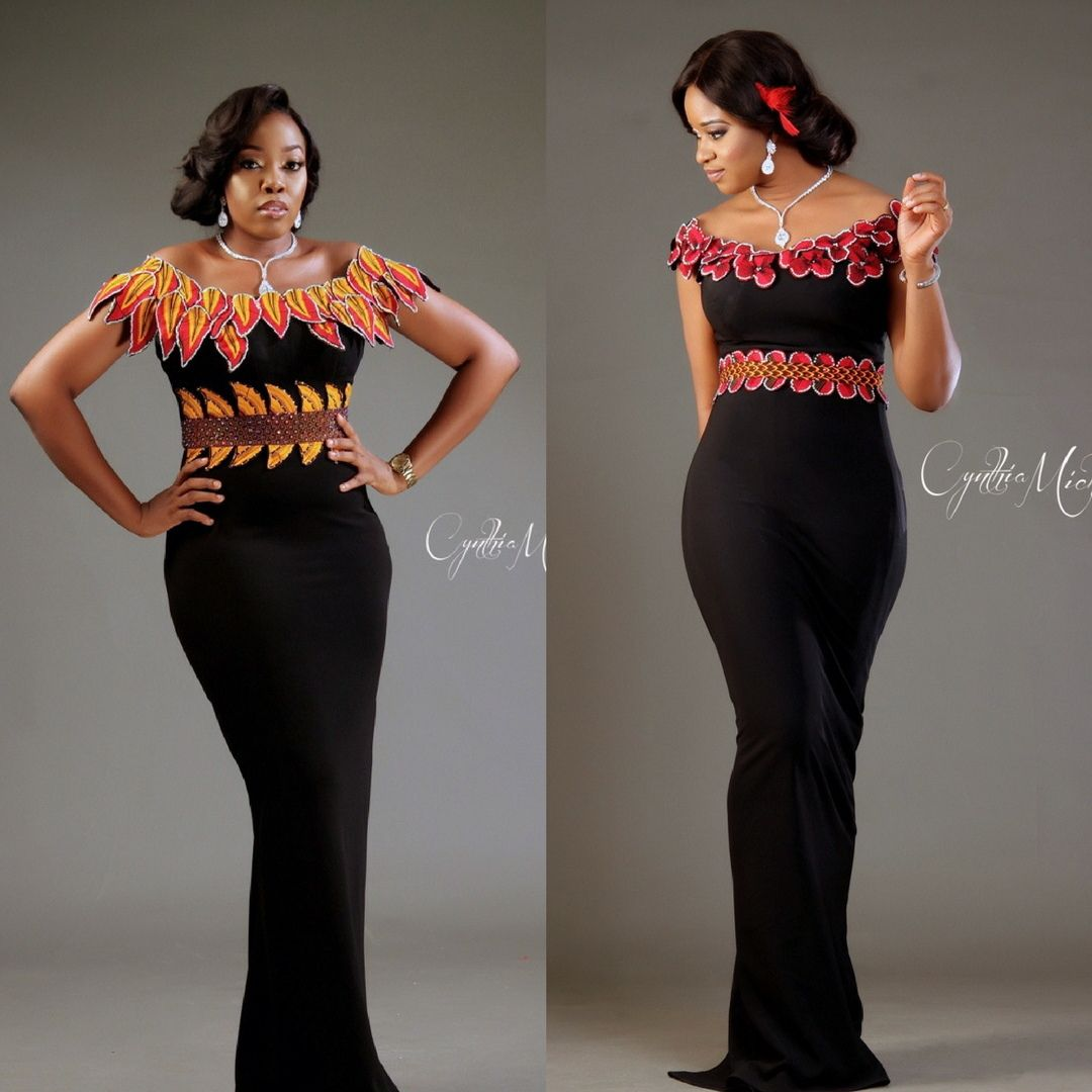 Every woman deserves an impeccable dress to be remembered cynthia cynthia michaels fashion dresses can surely make your dream come true strut and steal the night in this oma cocktail dress with ankara ombrellifo Images