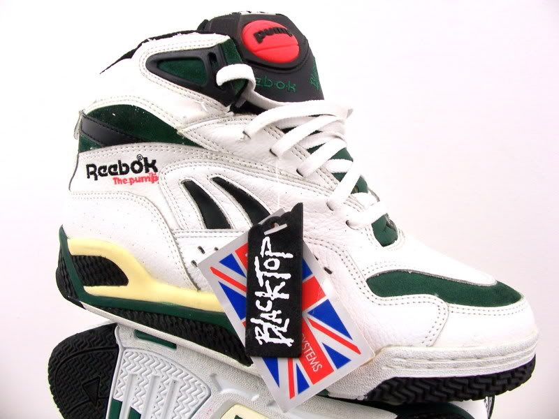 8d857c526bad Reebok Pump Blacktop. Dad brought me home one of these when he was still  working in HK. These were one of the first streetball ashpalt shoes that I  knew of