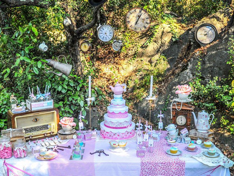 d coration de table alice au pays des merveilles gala pinterest tea parties sucr doux