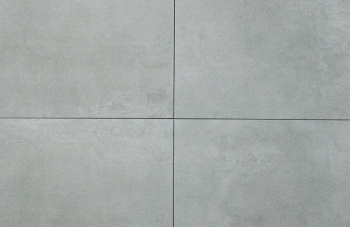 sehr große Fliese Feinsteinzeug 120x60 cm Beton Optik