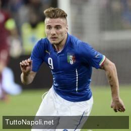 """SEMPRE E comunque Napoli: Immobile chiama il Napoli: """"Mi emoziona essere acc..."""