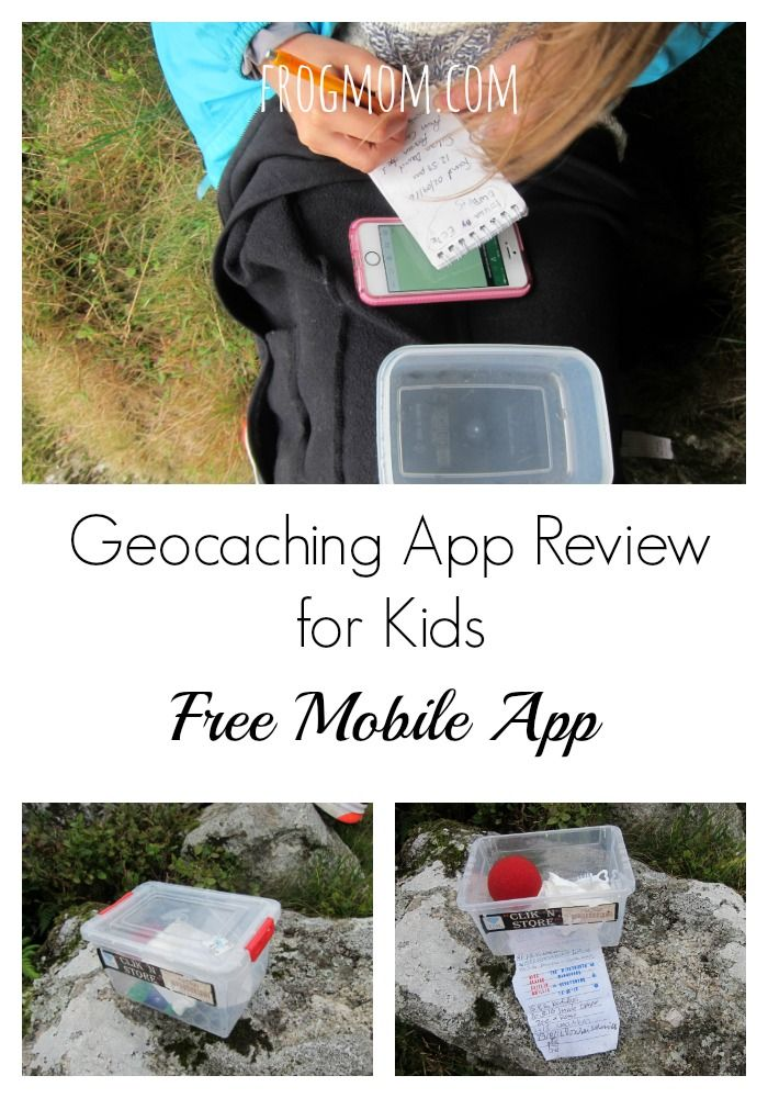 Geocaching App Review for Kids (Free Mobile App