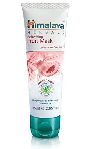 Himalaya Herbals Refreshing Fruit Mask Herbal Skin Care Improve Skin Texture Skin Firming