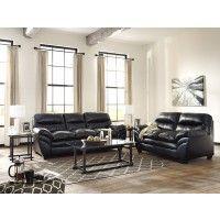 Tassler DuraBlend - Black - Sofa & Loveseat