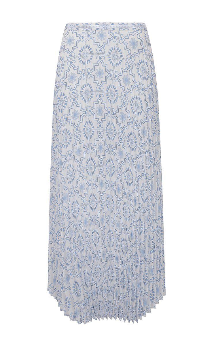 Printed Soleada Skirt by DONDUP for Preorder on Moda Operandi