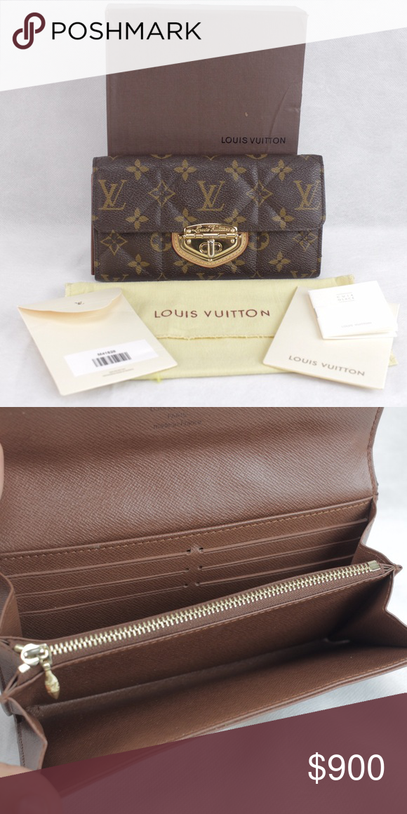 the best attitude 3d80a 72d9b Louis Vuitton Etoile Portefeiulle Sarah Wallet %100 ...