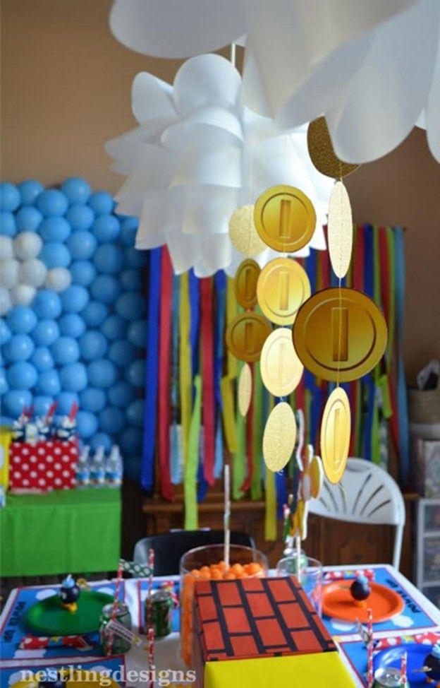 Mario Party Decoration Ideas