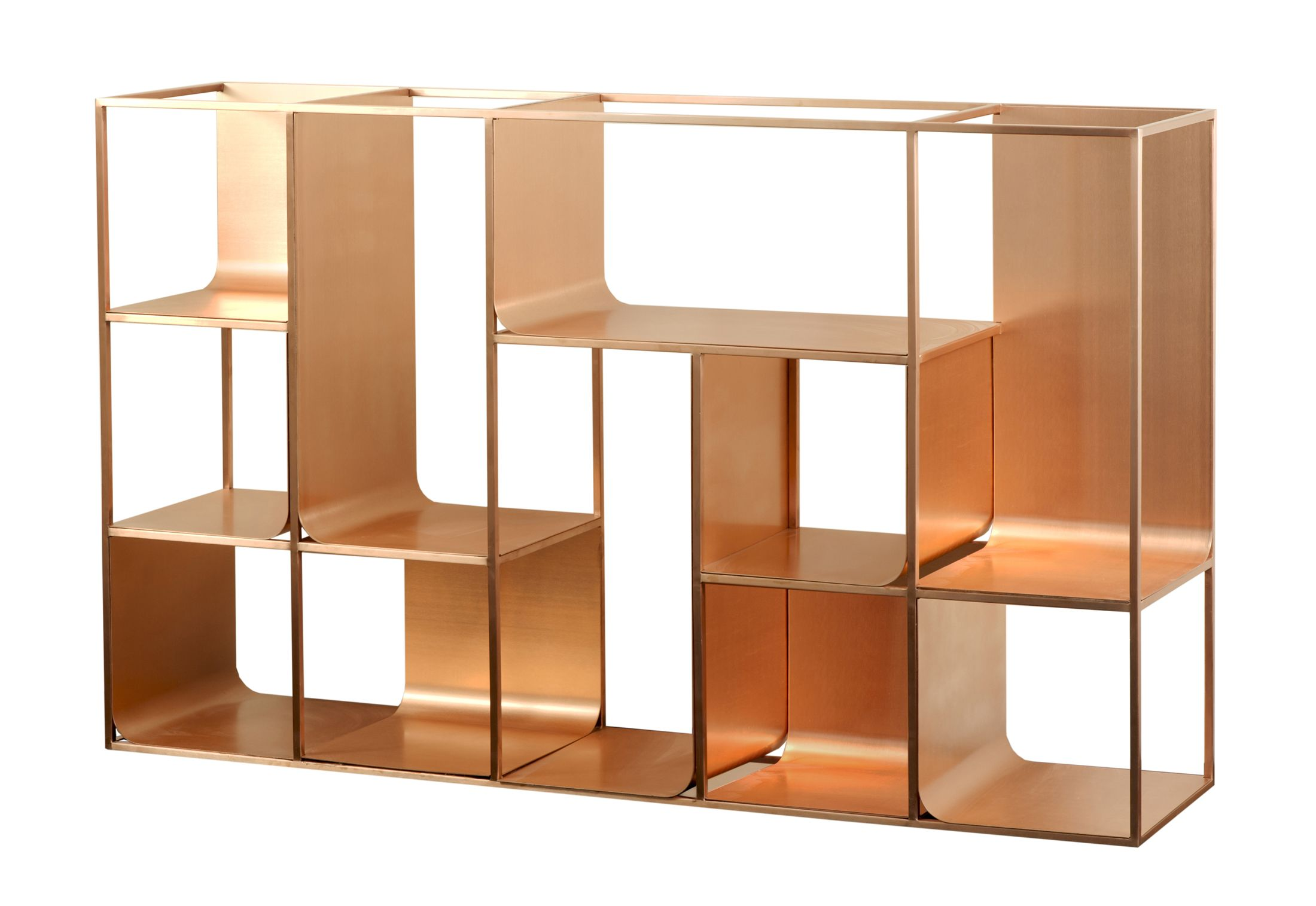 KME Copper View Shelf By Ferruccio Laviani
