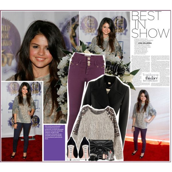Celebrity style inspiration: Selena Gomez (No exact items), created by planetlipstick on Polyvore